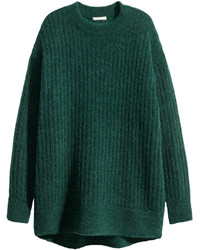 H&M Oversized Mohair Blend Sweater