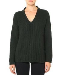 AG Jeans The V Neck Sweater Olive