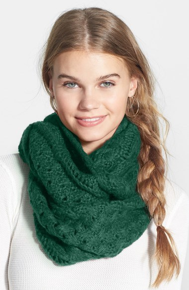 94ad59a4f9a5d Cable Knit Infinity Scarf, $20 | Nordstrom | Lookastic.com