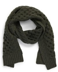 Rag and Bone Rag Bone Trevor Cable Knit Scarf