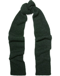 Toile isabel marant genoa alpaca blend scarf dark green medium 1055639