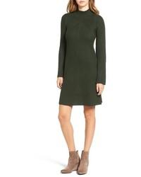 Bell sleeve knit sweater dress medium 827843