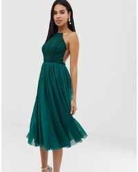 7b997443458b7 Women's Dark Green Dresses from Asos | Women's Fashion | Lookastic.com