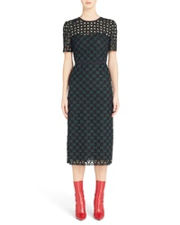 Fendi Lace Sheath Dress