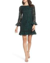 Eliza J Petite Flare Sleeve Lace Shift Dress
