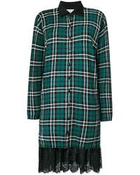 Twin-Set Lace Detail Shirt Dress