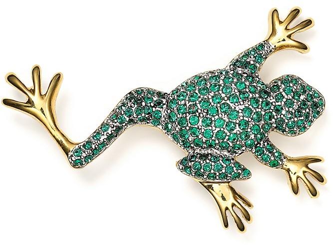 Carolee Frog Pin