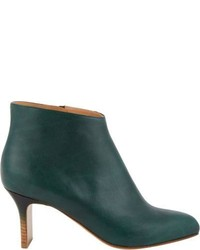 Maison Margiela Gradient Heel Ankle Boots Green