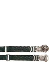 Balmain 30mm Metal Buckle Leather Belt
