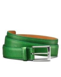 Allen Edmonds Yellowstone Casual Belt 79915 Green Print Leather 420