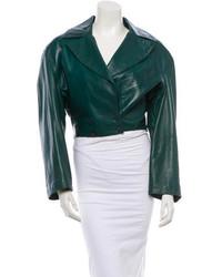 Alaia Alaa Leather Jacket
