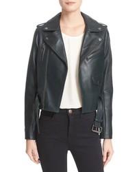 Parker Cooper Leather Moto Jacket