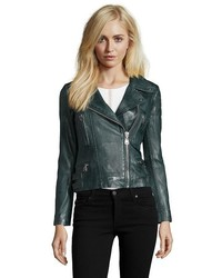Doma Leather Leather Moto Biker Jacket