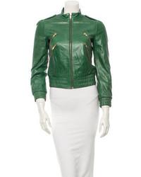 Leather jacket medium 323178