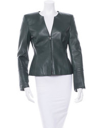 Leather jacket medium 323179