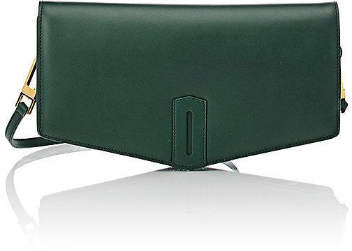 Women s Fashion › Accessories › Bags › Clutches › Barneys New York › Byredo  › Dark Green Leather Clutches Byredo Bindu Small Clutch ... 27cf639cc99f2