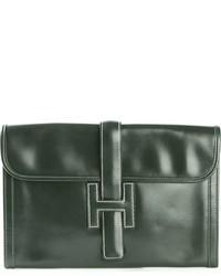 Hermes Herms Vintage Jige Clutch