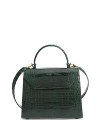 Nancy Gonzalez Medium Lily Genuine Crocodile Crossbody Bag