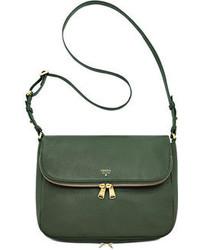 Women S Dark Green Leather Crossbody