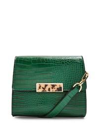 Topshop Skye Crocodile Crossbody Bag