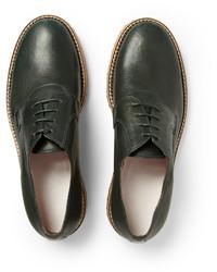 Maison Martin Margiela Crepe Sole Leather Derby Shoes