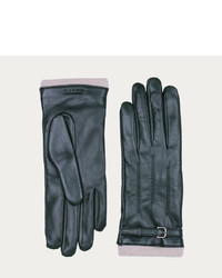 Bally Cashmere Gloves S Jaguar Leather Gloves