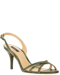 Dolce gabbana lizard skin effect sandal medium 175434