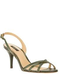 Dolce & Gabbana Lizard Skin Effect Sandal