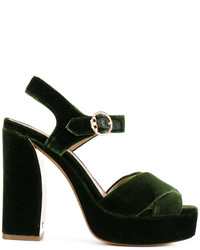 Platform heeled sandals medium 5206017