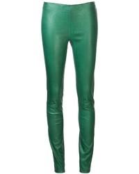 Cut leg opening leggings medium 5097