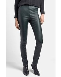 Lambskin leather leggings medium 55350