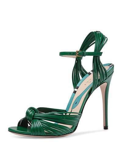 Gucci Allie 110 Mm Knot Sandal, $850