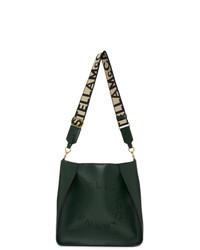 Stella McCartney Green Mini Logo Crossbody Bag