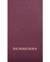 ... Burberry The Medium Banner In Leather And House Check ... 5736242e265dc