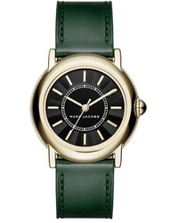 Marc Jacobs Courtney Leather Strap Watch 34mm
