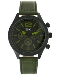Tko Orlogi Leather Watch