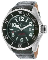 Vip Time Magnum Automatic Green Genuine Leather And Dial