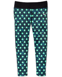 Nike Little Girls Polka Dot Leggings