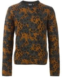 Just cavalli leopard pattern sweater medium 364676