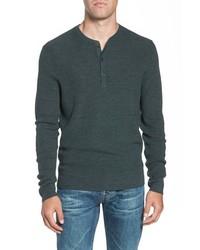 Nordstrom Men's Shop Merino Wool Blend Thermal Henley