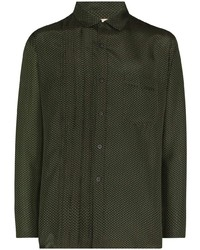 By Walid Buttoned Long Sleeve Shirt