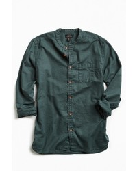 Cpo Stevens Band Collar Button Down Shirt