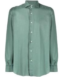 Mazzarelli Plain Button Shirt