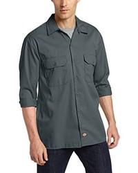 Dark Green Long Sleeve Shirt