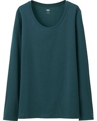 Dark Green Long Sleeve T-shirt