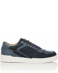 Paul Andrew Abel Suede Leather Sneakers