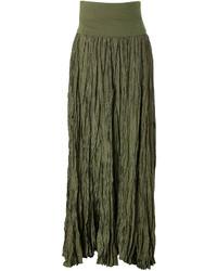 Donna Karan New York Silk Maxi Skirt