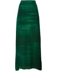 Raquel Allegra Haze Print Maxi Skirt