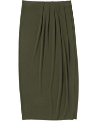 Joe Fresh Wrap Maxi Skirt Black