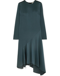 Dark green midi dress original 9952820